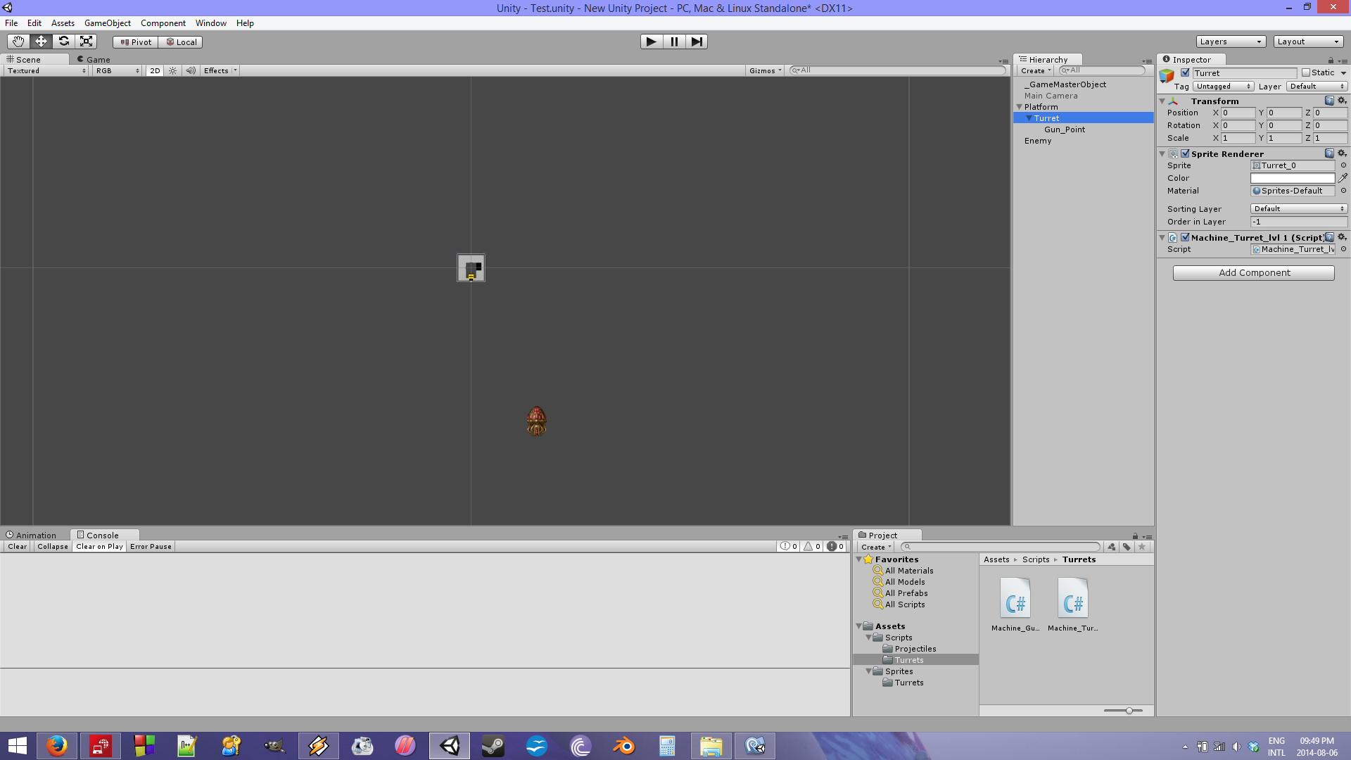 Unity child transform problem [SOLVED] - Make Games South Africa